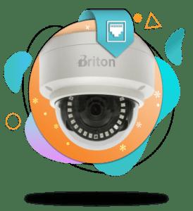 دوربین مداربسته IP برایتون