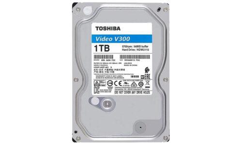 هارددیسک اینترنال 1 ترابایت توشیبا Toshiba مدل HDD 3.5 1T V300