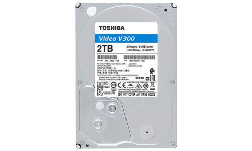 هارددیسک اینترنال 2 ترابایت توشیبا Toshiba مدل HDD 3.5 2T V300